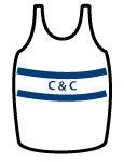 cambridge coleridge athletics club vest