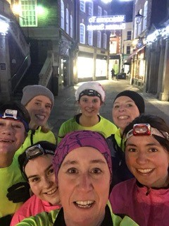 Women's running group faces March2019