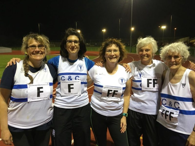 Eastern Masters Athletics League 1st Match Result – 1st May