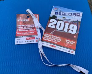 England athletics U20/U23 Championships- Bedford 22-23 June 2019