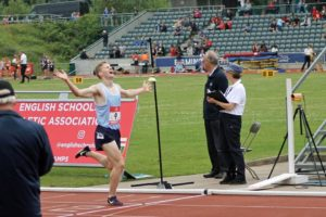 Three medals for C&C athletes at the English Schools Championships