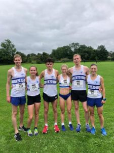 Women's Team are National Five mile Road Champions