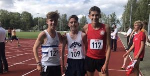 South of England U13/U15/U17 Championships – Ashford 17-18th August 2019
