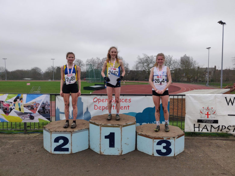 SEAA Cross Country Championships – Parliament Hill 25th January 2020