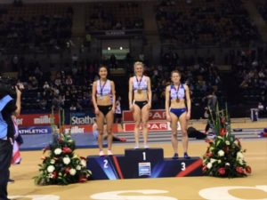Medals for C&C Athletes at the British Indoor Championships  23rd February 2019
