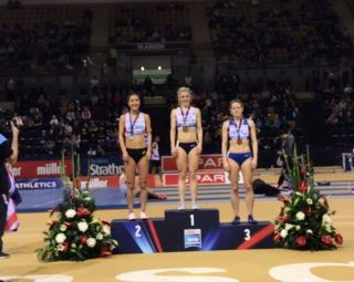 Medals for C&C Athletes at the British Indoor Championships  23rd February 2020