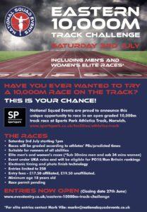 Eastern 10,000m challenge