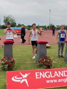 Gold for Samuel at England U23 Championship – 20th June 2021